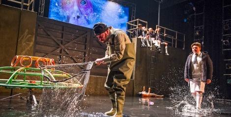 A scene from Herons by Simon Stephens @ Lyric Theatre Hammersmith. Directed by Sean Holmes. (Opening 21-01-16) ©Tristram Kenton 01/16 (3 Raveley Street, LONDON NW5 2HX TEL 0207 267 5550 Mob 07973 617 355)email: tristram@tristramkenton.com
