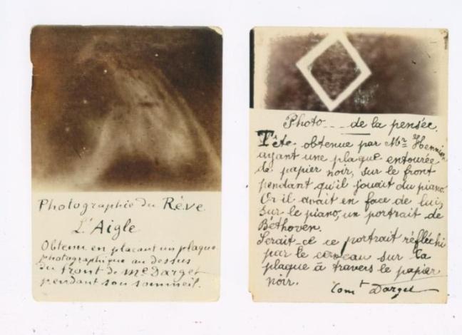 Louis Darget's photographs.